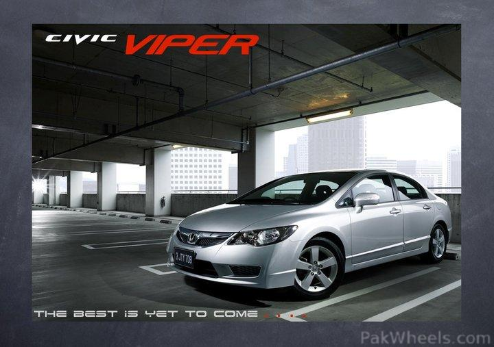 "New stuff 2011 Civic VTi ""Viper"" - 234989"