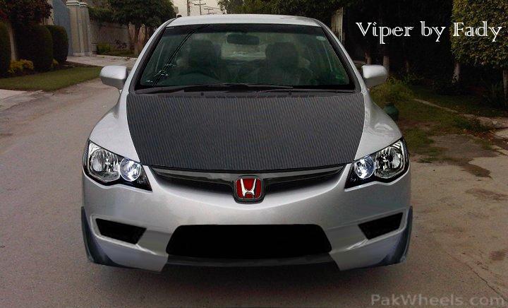 """New stuff 2011 Civic VTi """"Viper"""" - 252300"""