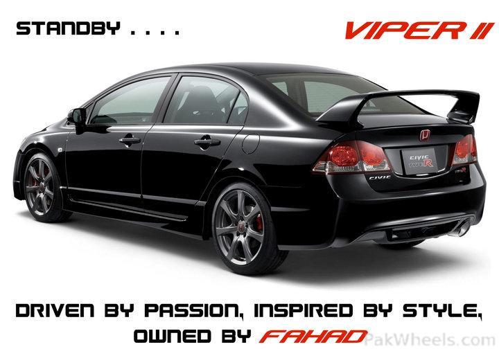 """New stuff 2011 Civic VTi """"Viper"""" - 256590"""