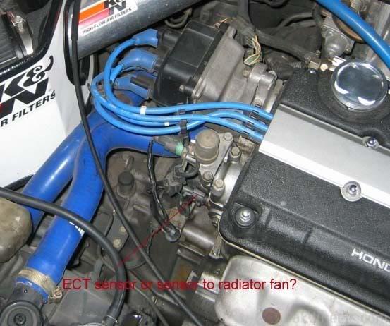 Honda Civic 97 Vti 1600 EFI engine heatup problem - 263029