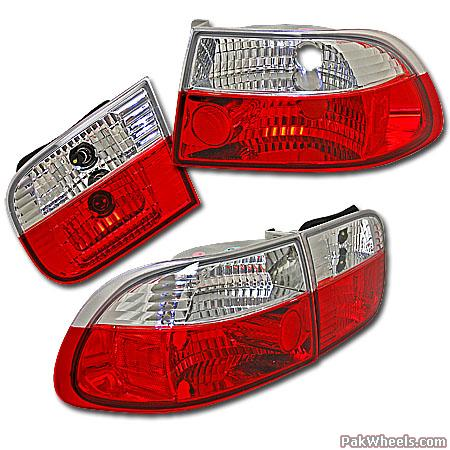 Required: Civic-95 Projectors & Tail Lights - 58576