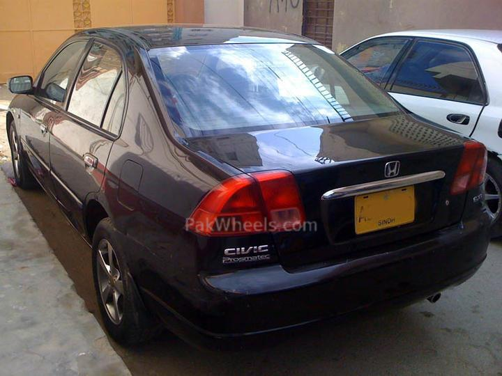 Bought Civic 2001 EXI automatic - 85170