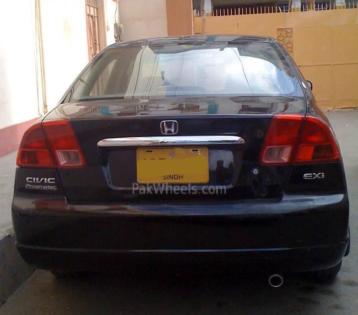 Bought Civic 2001 EXI automatic - 85172