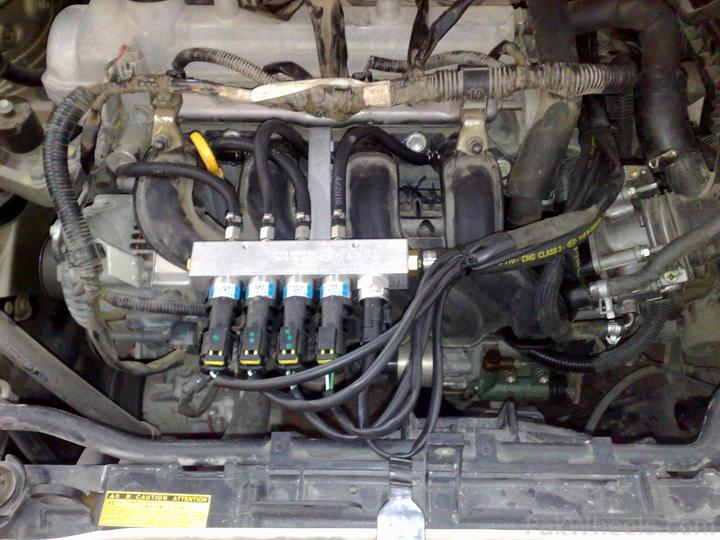 this CNG perform in corolla 2009-10 and all electronic throttle type vhicles - 187812