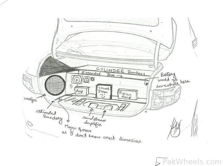 "Project ""Laadli"" - My Toyota Corolla GLi 2010 - 234823"