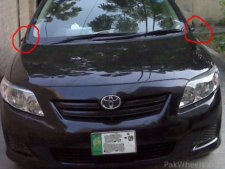 Some1 stole the EARS of my COROLLA :P - 268908