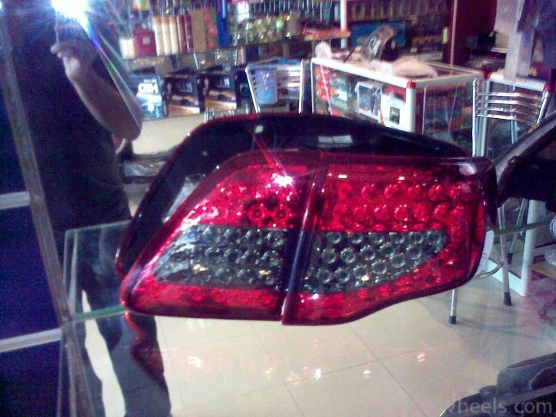 Corolla 09 LED Tail Lamps (new design) - 357047