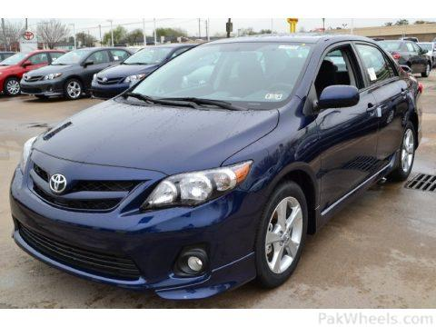 Want to check deep blue in corolla - 376994