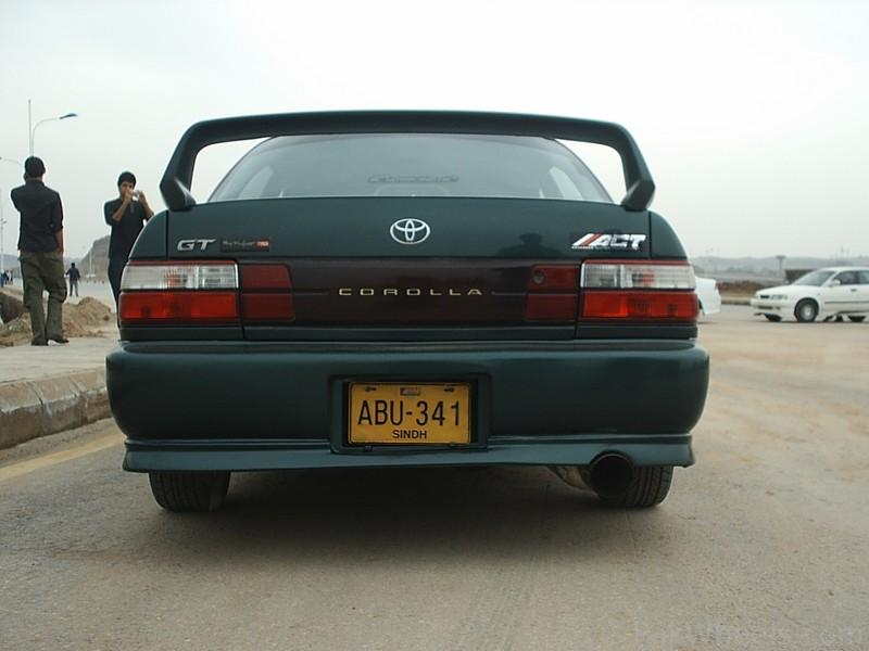Toyota corolla 1995 - Modification - 399307