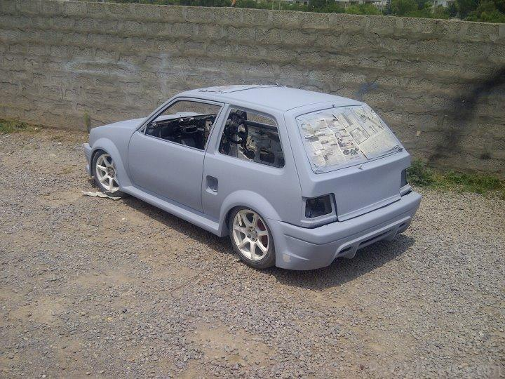 Project Suzuki Khyber 1500cc And Fiber Body Kit Car Domain Rozzzzz