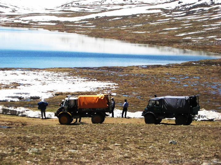 Team UNIMOG Punga 2010 @Elevation 14200ft–Via Babusar-Sheosar–Burzil–Minimerg–Butogah - 112564