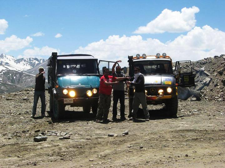 Team UNIMOG Punga 2010 @Elevation 14200ft–Via Babusar-Sheosar–Burzil–Minimerg–Butogah - 115222