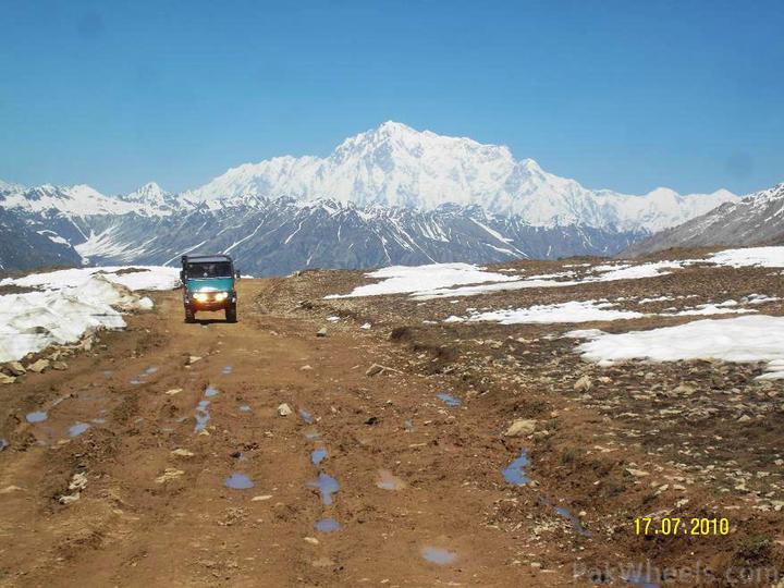 Team UNIMOG Punga 2010 @Elevation 14200ft–Via Babusar-Sheosar–Burzil–Minimerg–Butogah - 117664