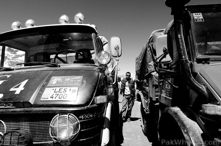 Team UNIMOG Punga 2010 @Elevation 14200ft–Via Babusar-Sheosar–Burzil–Minimerg–Butogah - 117762