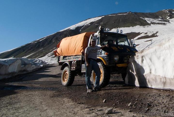 Team UNIMOG Punga 2010 @Elevation 14200ft–Via Babusar-Sheosar–Burzil–Minimerg–Butogah - 118670