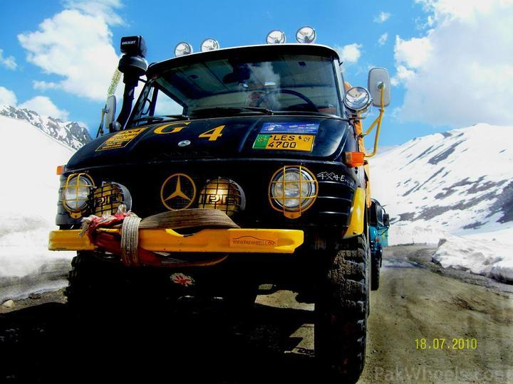 Team UNIMOG Punga 2010 @Elevation 14200ft–Via Babusar-Sheosar–Burzil–Minimerg–Butogah - 122760
