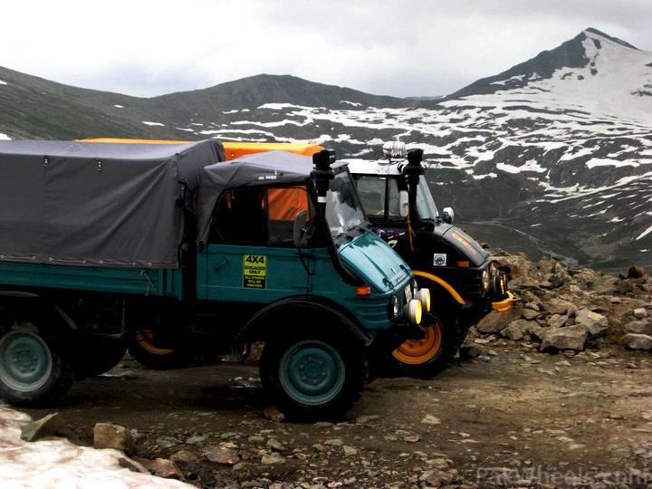 Team UNIMOG Punga 2010 @Elevation 14200ft–Via Babusar-Sheosar–Burzil–Minimerg–Butogah - 143333