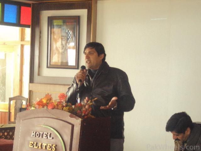 Commissioner Hazara Snow Cross Launching Ceremony at Nathiagali - 207397