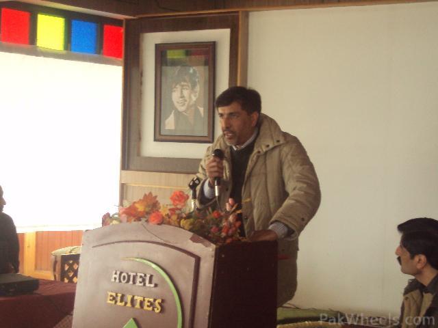 Commissioner Hazara Snow Cross Launching Ceremony at Nathiagali - 207436