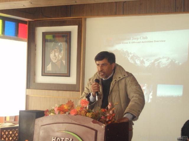 Commissioner Hazara Snow Cross Launching Ceremony at Nathiagali - 207437
