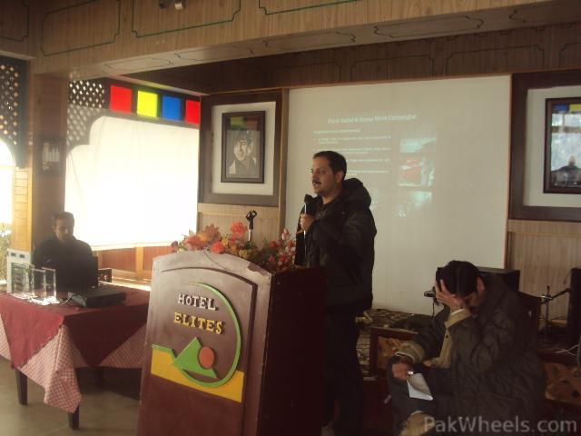 Commissioner Hazara Snow Cross Launching Ceremony at Nathiagali - 207438