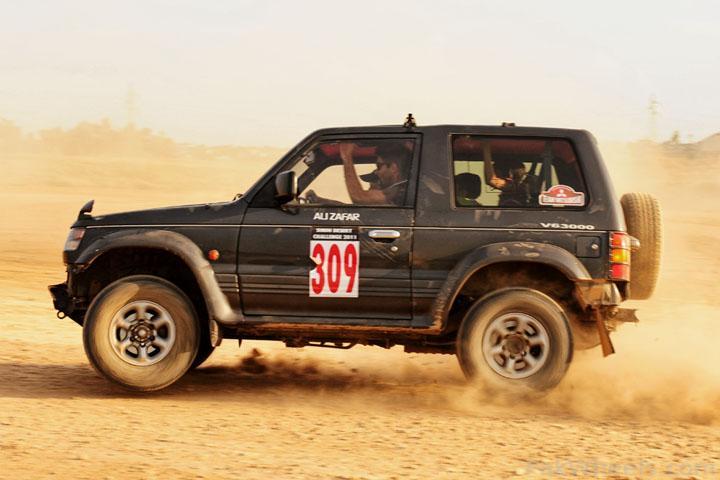 IJC Celebrating Sindh Challenge Rally 2011 on 3 April  at Rawat - 222757