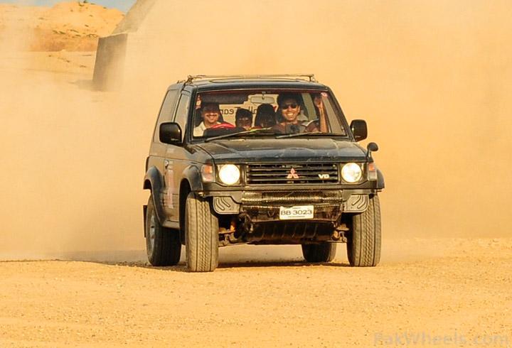 IJC Celebrating Sindh Challenge Rally 2011 on 3 April  at Rawat - 222937