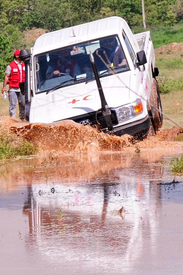 IJC trains IFRC / PRCS in 4x4 Skills - 233990