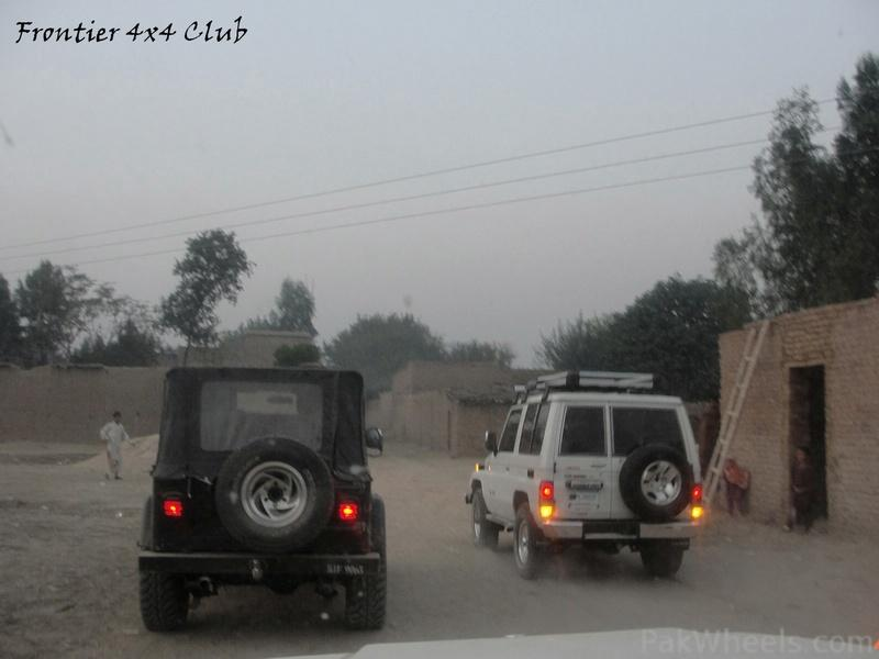 Frontier 4X4 Club Off Roading at Badabair on 26-11-11 - 333404