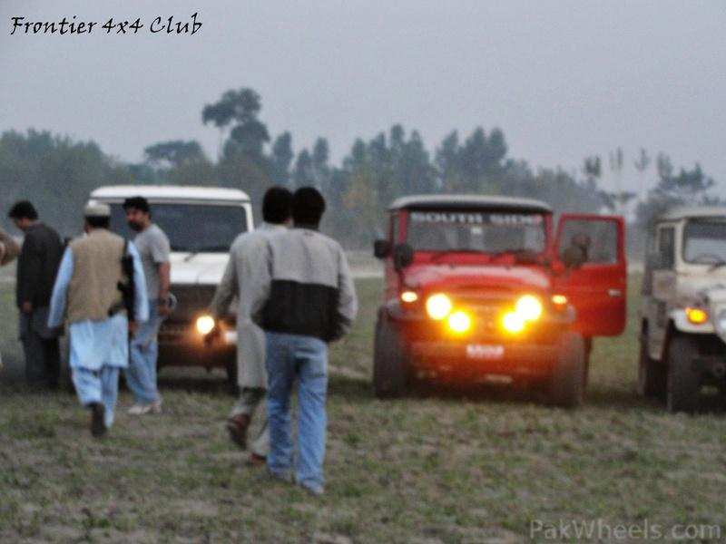 Frontier 4X4 Club Off Roading at Badabair on 26-11-11 - 333411