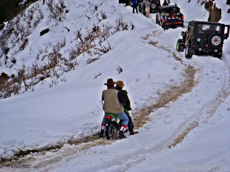 All Pakistan Joint Snow Cross Event 2012 Malamjabba - 350040
