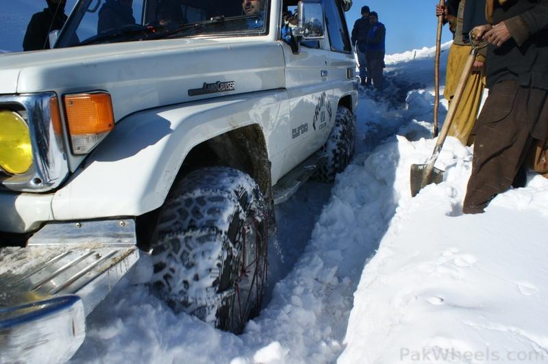 Frontier4x4club Snow Cross Rally 2012 Malam Jaba Swat - 363433