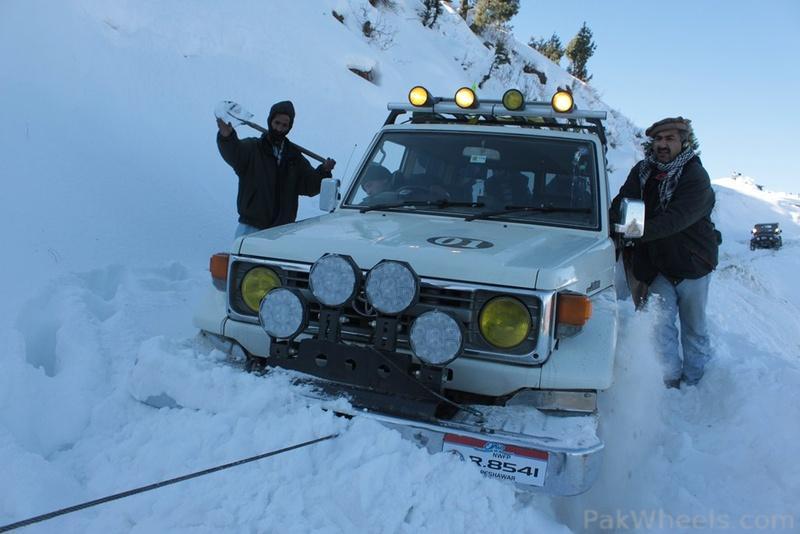 Frontier4x4club Snow Cross Rally 2012 Malam Jaba Swat - 363545