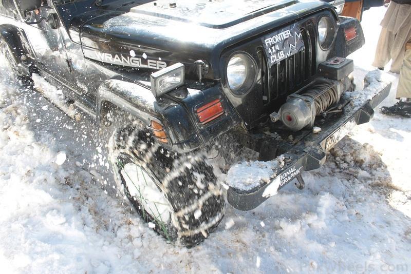 Frontier4x4club Snow Cross Rally 2012 Malam Jaba Swat - 363896