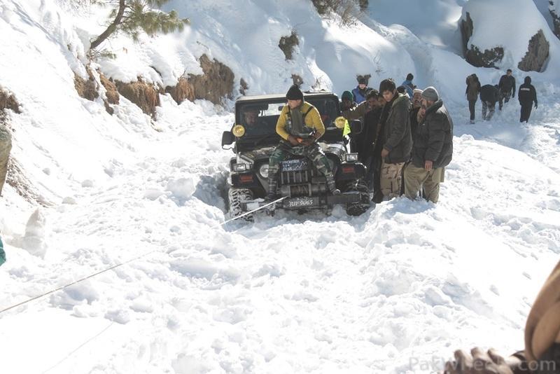 Frontier4x4club Snow Cross Rally 2012 Malam Jaba Swat - 363904