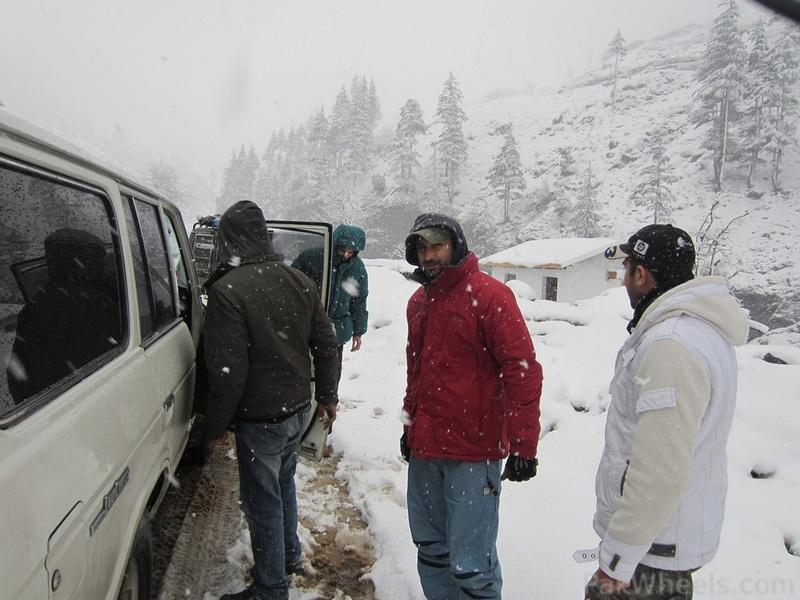 IJC Snow Cross Peace Rally 2012 at Kalam - 366799