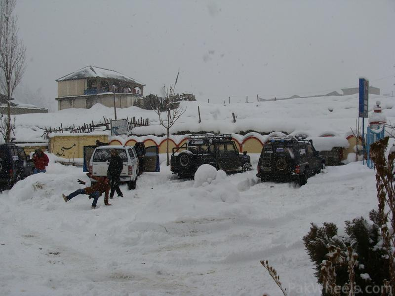IJC Snow Cross Peace Rally 2012 at Kalam - 367383
