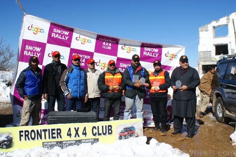 Frontier4x4club Snow Cross Rally 2012 Malam Jaba Swat - 367511