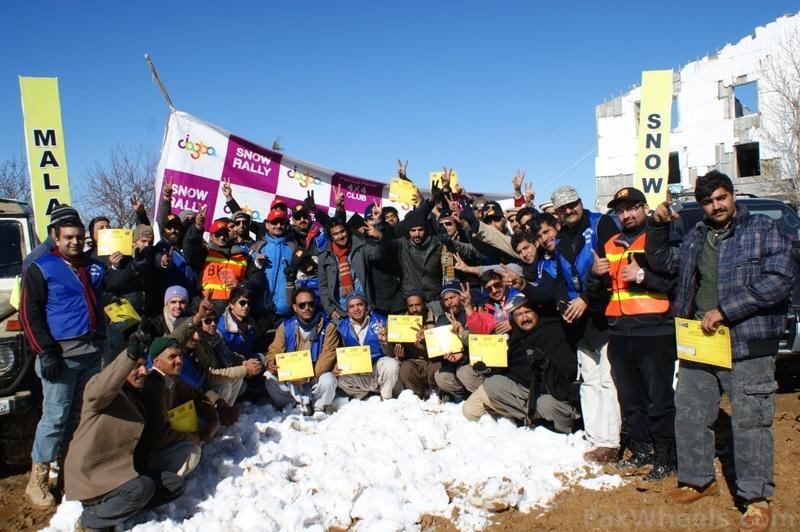 Frontier4x4club Snow Cross Rally 2012 Malam Jaba Swat - 367512