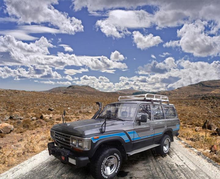 My 1987 Land Cruiser - 95445