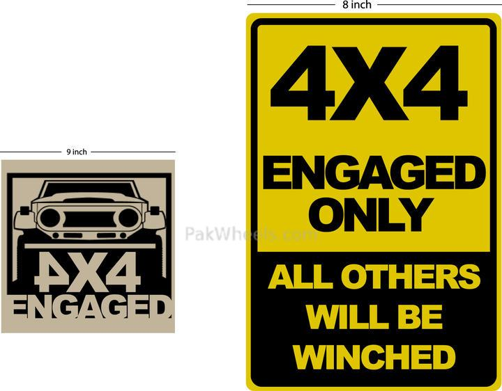 4x4Engaged? Camping Gear/Accessories Shirts & Stickers - 95643