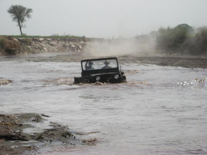 4x4 Engaged? Under Water!! 27th June 10 - 97255