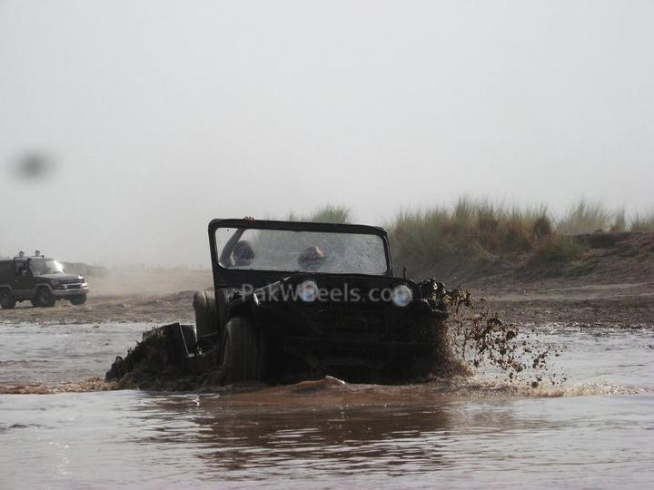 4x4 Engaged? Under Water!! 27th June 10 - 97258
