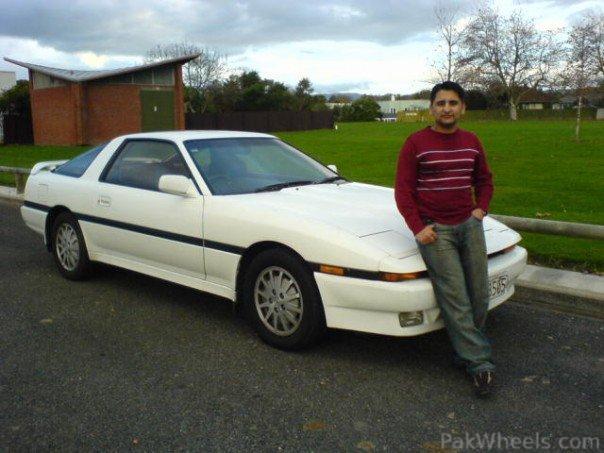its toyota supra 1991.....i love this car - 297666