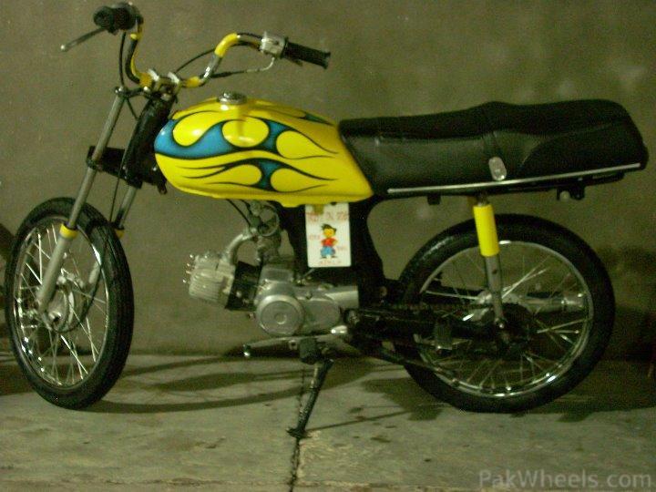 Altered 70CC Bike - 295897