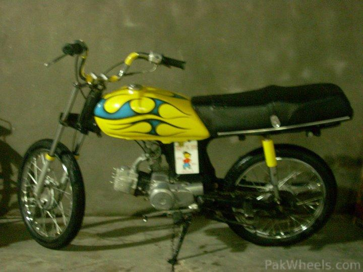 Altered 70CC Bike - 295898