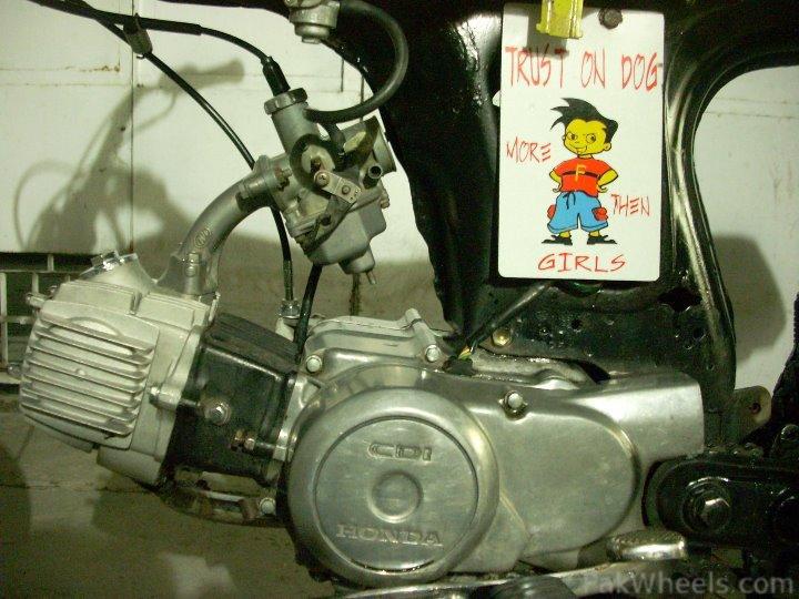 Altered 70CC Bike - 295899