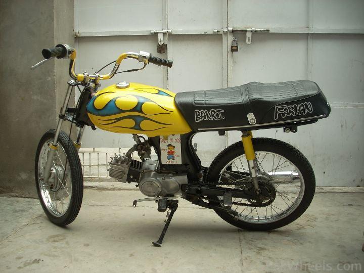 Altered 70CC Bike - 295900