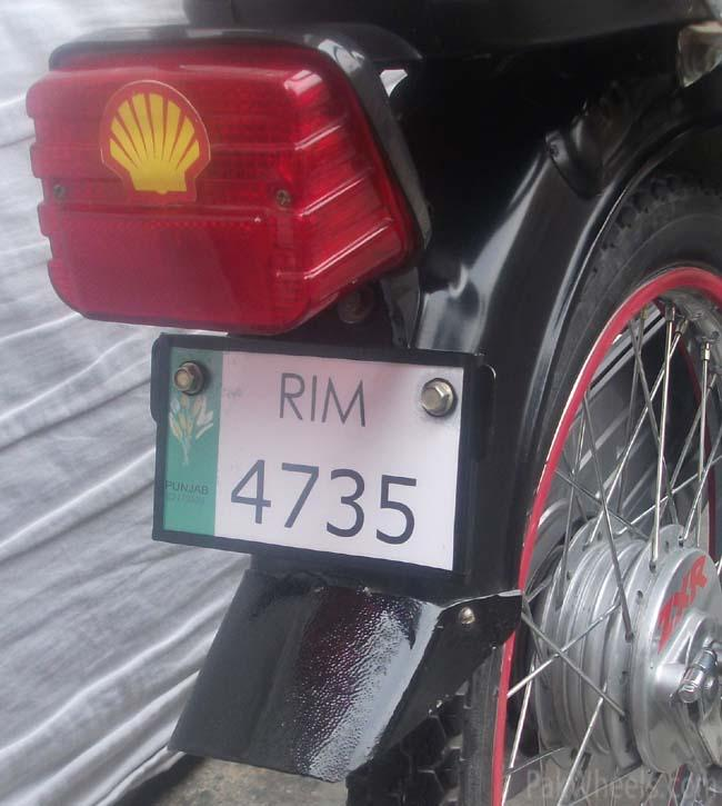 (Convertible number plate) for bike lovers - 372932