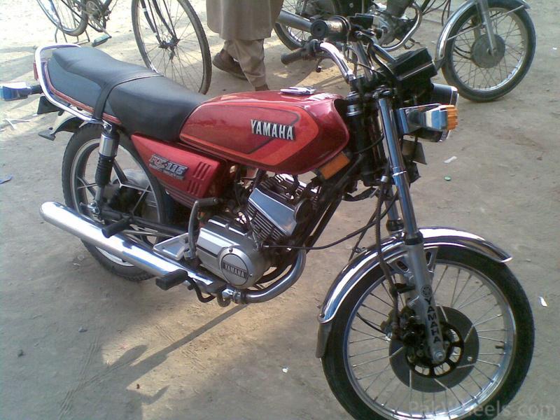 Yamaha RX115 Owners & Fan Club - 412884